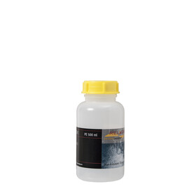 Relags Bouteille goulot large - rond/500 ml/Ø 40 mm jaune/transparent